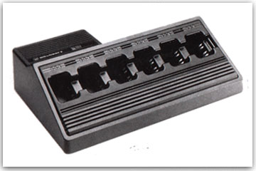 Radio Rental Accessories - 6 Unit Rapid Charger