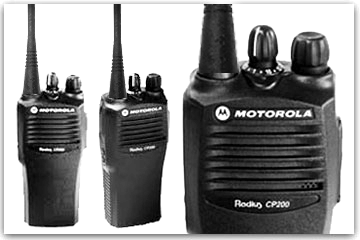 Two Way Radios - Motorola CP200