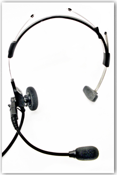 Radio Rental Accessories - Lightweight Headset