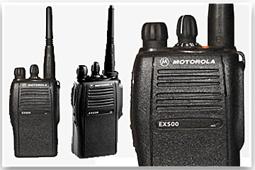 Two Way Radios - Motorola-EX500